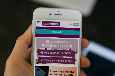 la comunidad ideas4afflelou de cocreación con clientes
