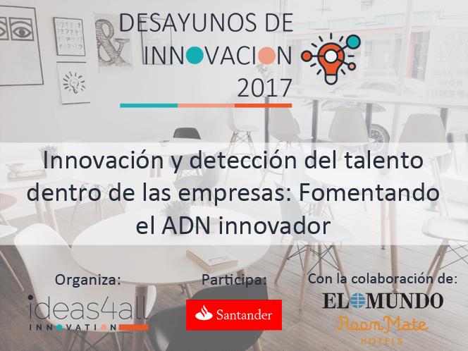 Desayuno sobre detección de talento e innovación