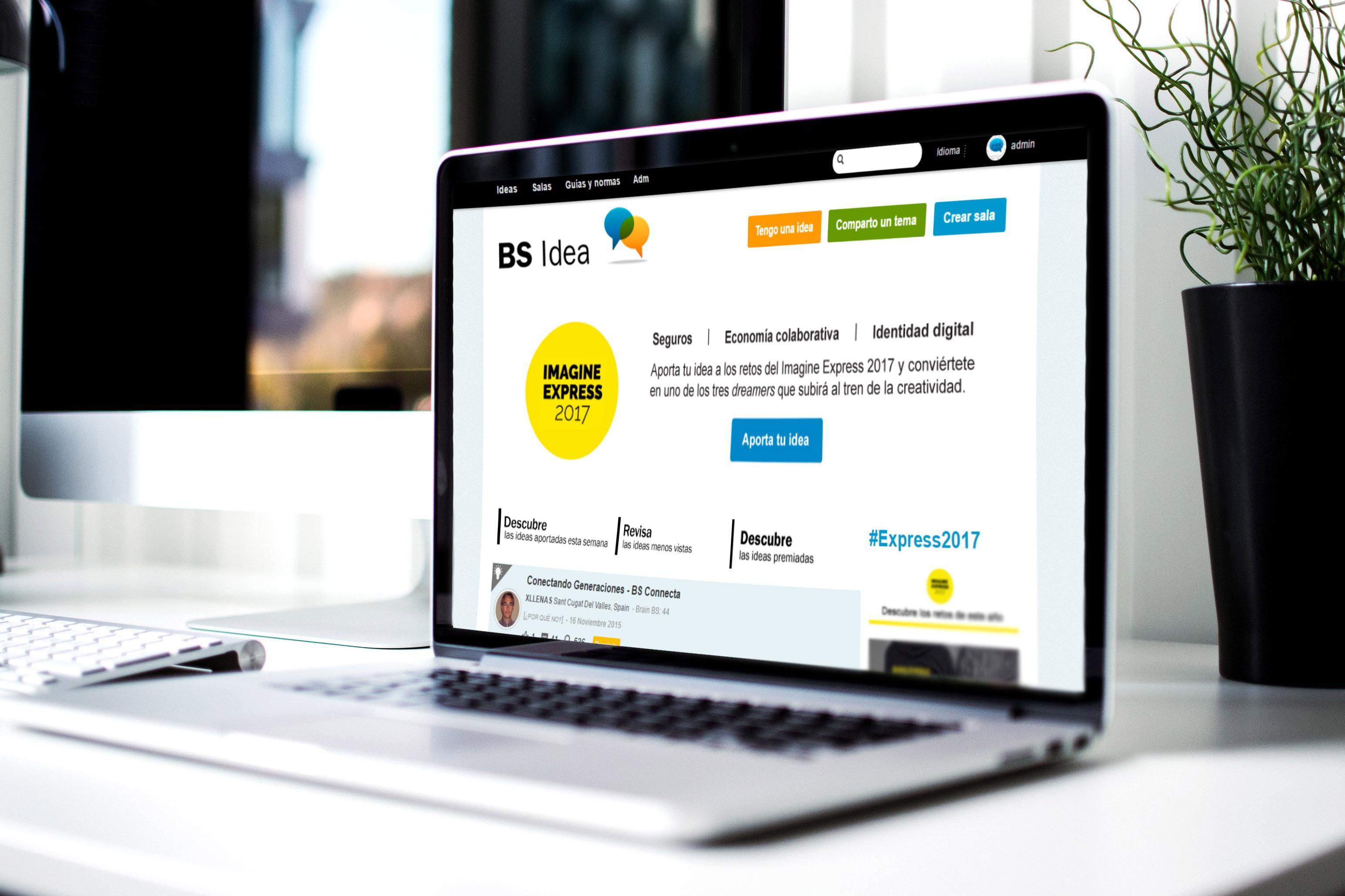 BS idea, la comunidad de innovación interna de Banco Sabadell
