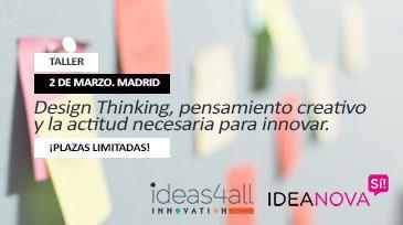 Design thinking y pensamiento creativo: bases ágiles para construir la innovación