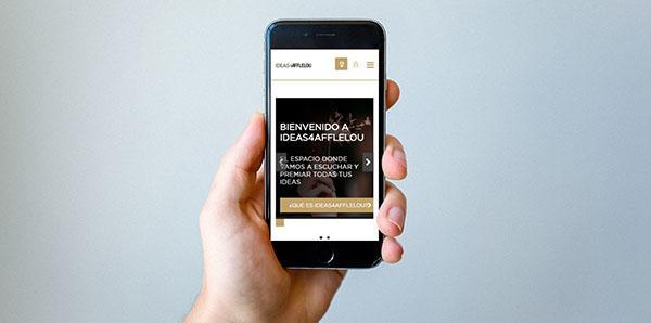 ejemplo de innovación abierta mediante una comunidad de ideas con clientes del sector retail