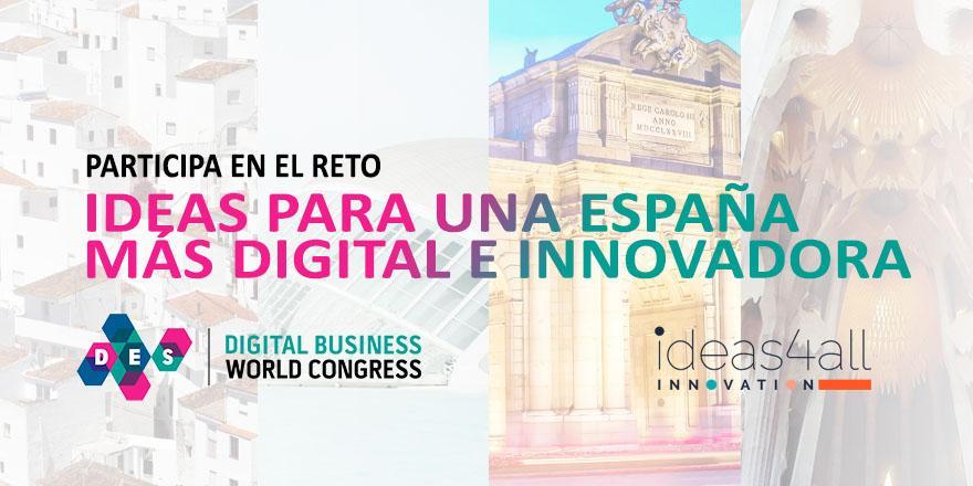 DES propone idear una España más digital e innovadora mediante la inteligencia colectiva