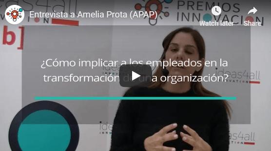 """Amelia Prota: """"Necesitamos impulsar la innovación a nivel interno para hacer llegar sus resultados a los clientes"""""""