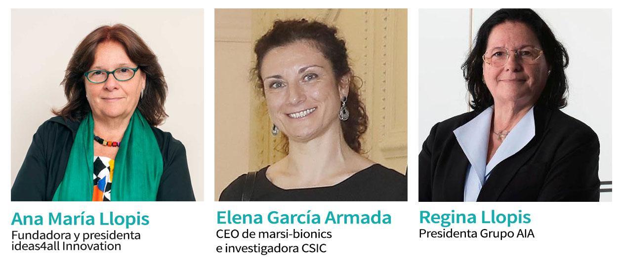 ponentes del panel STEM sobre innovación e igualdad
