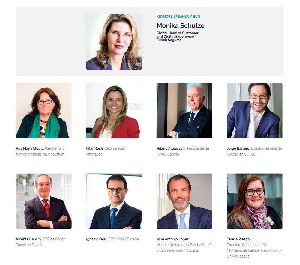 primeros ponentes confirmados en el innovationHUB de innovación de Madrid