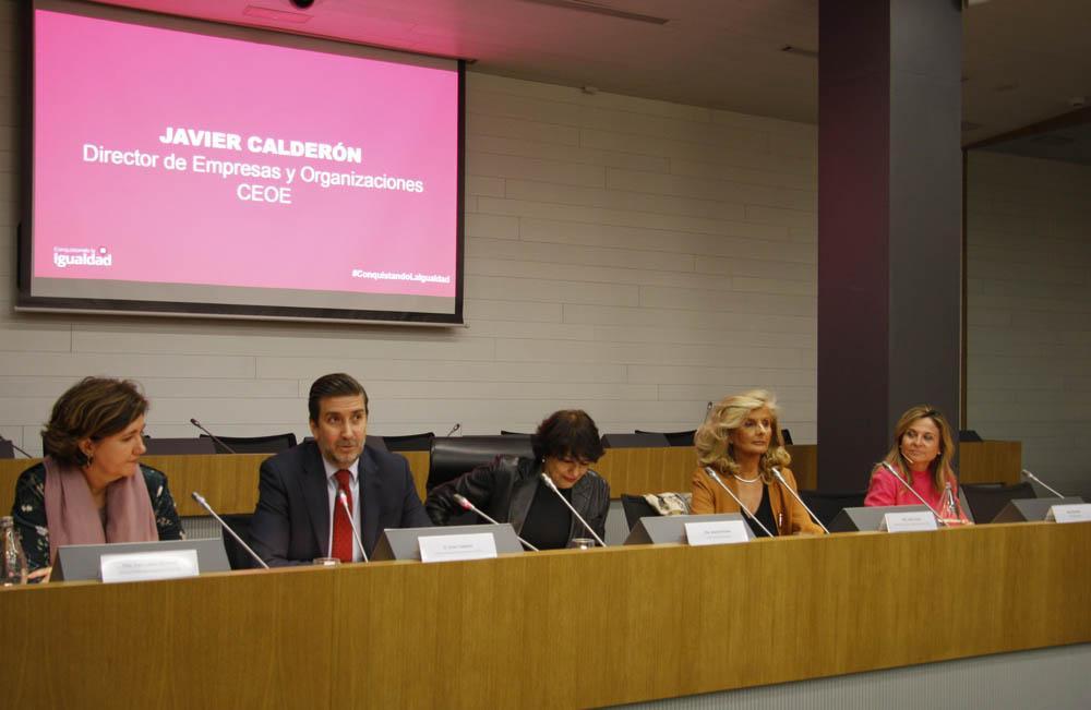 En su intervención, Soledad Murillo resaltó la importancia de proyectos como Conquistando la Igualdad