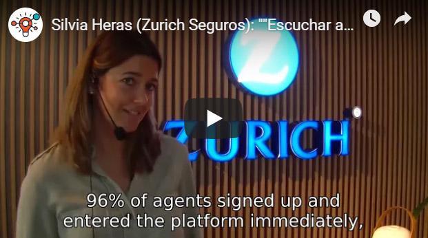 """Silvia Heras (Zurich Seguros): """"Escuchar a nuestros empleados nos ha permitido ganar credibilidad"""""""