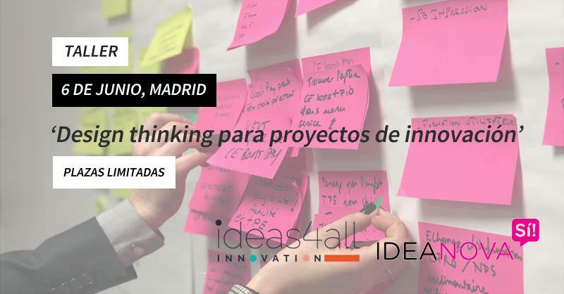 Taller de 'Design thinking': inyecta el ADN de la innovación en tu empresa