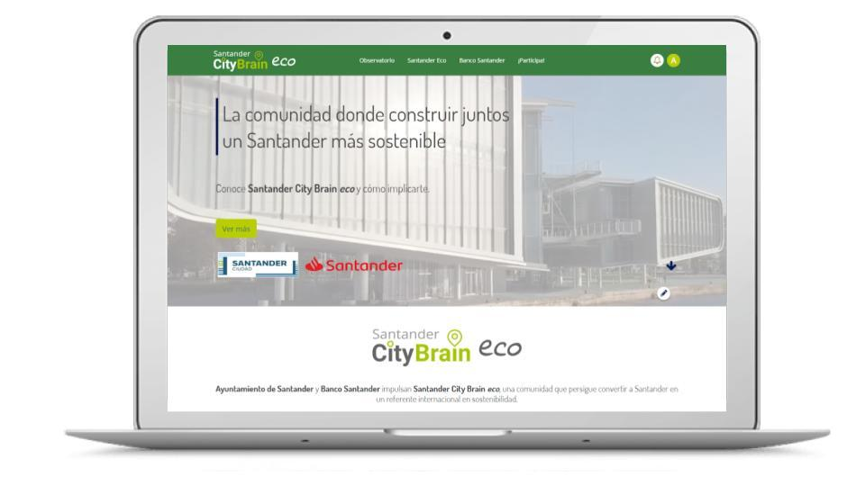 Santander is a more sustainable city thanks to Santander City Brain eco
