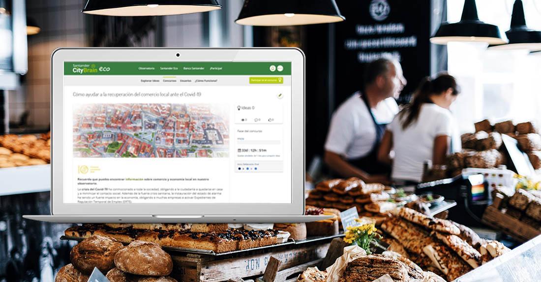 santander impulsa un reto de ideas ciudadanas para fortalecer al comercio local ante la COVID-19