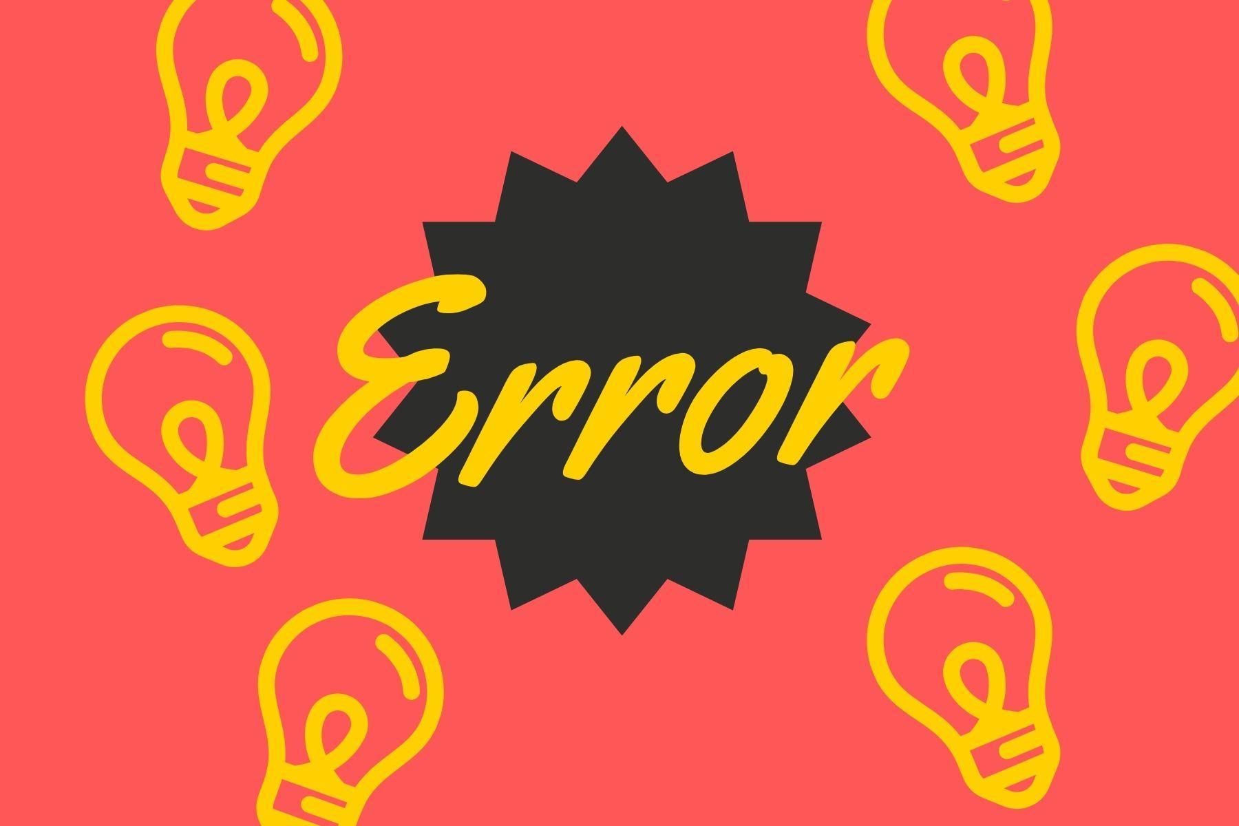 repasamos algunos de los errores más comunes en innovación