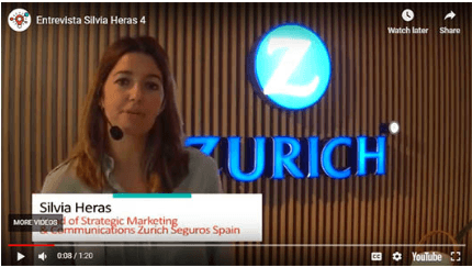 "Silvia Heras (Zurich Insurance): ""With 'Imagina' we have placed all employees on the same level"""