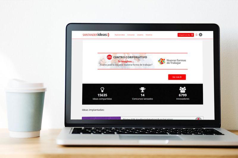 La comunidad de innovación de Banco Santander reunió a más de 25.000 usuarios