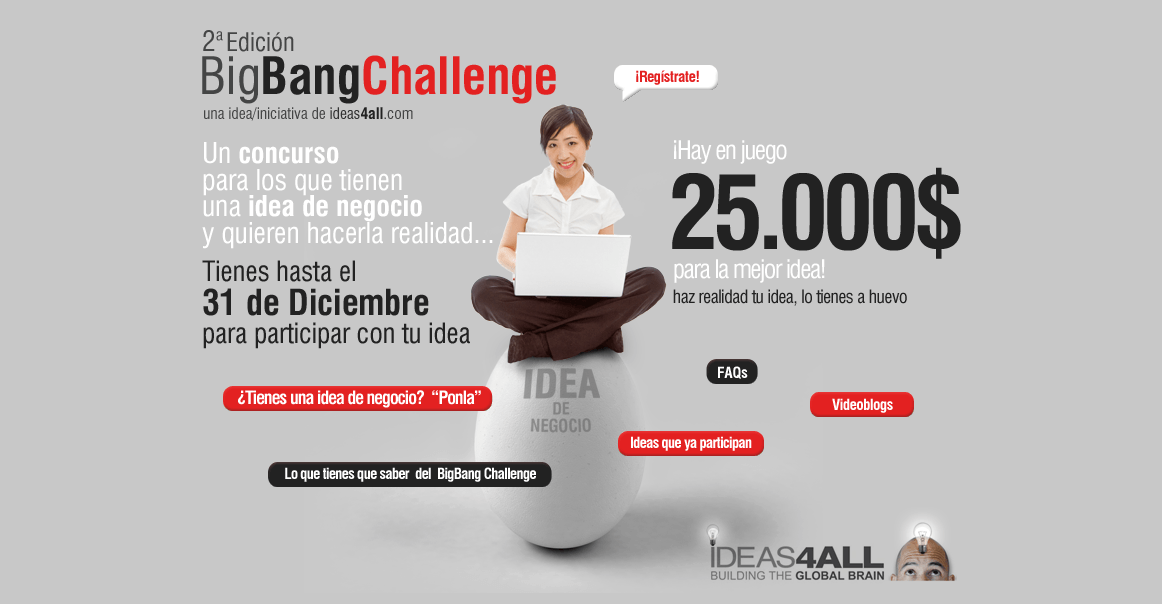 ideation challenge open to innovation with entrepreneurs