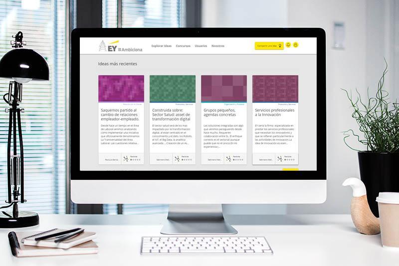 software que ayuda a EY impulsar la gestión del cambio