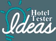 logo de la comunidad de innovación hotel tester ideas