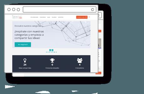 demo de software de gestión de la innovación