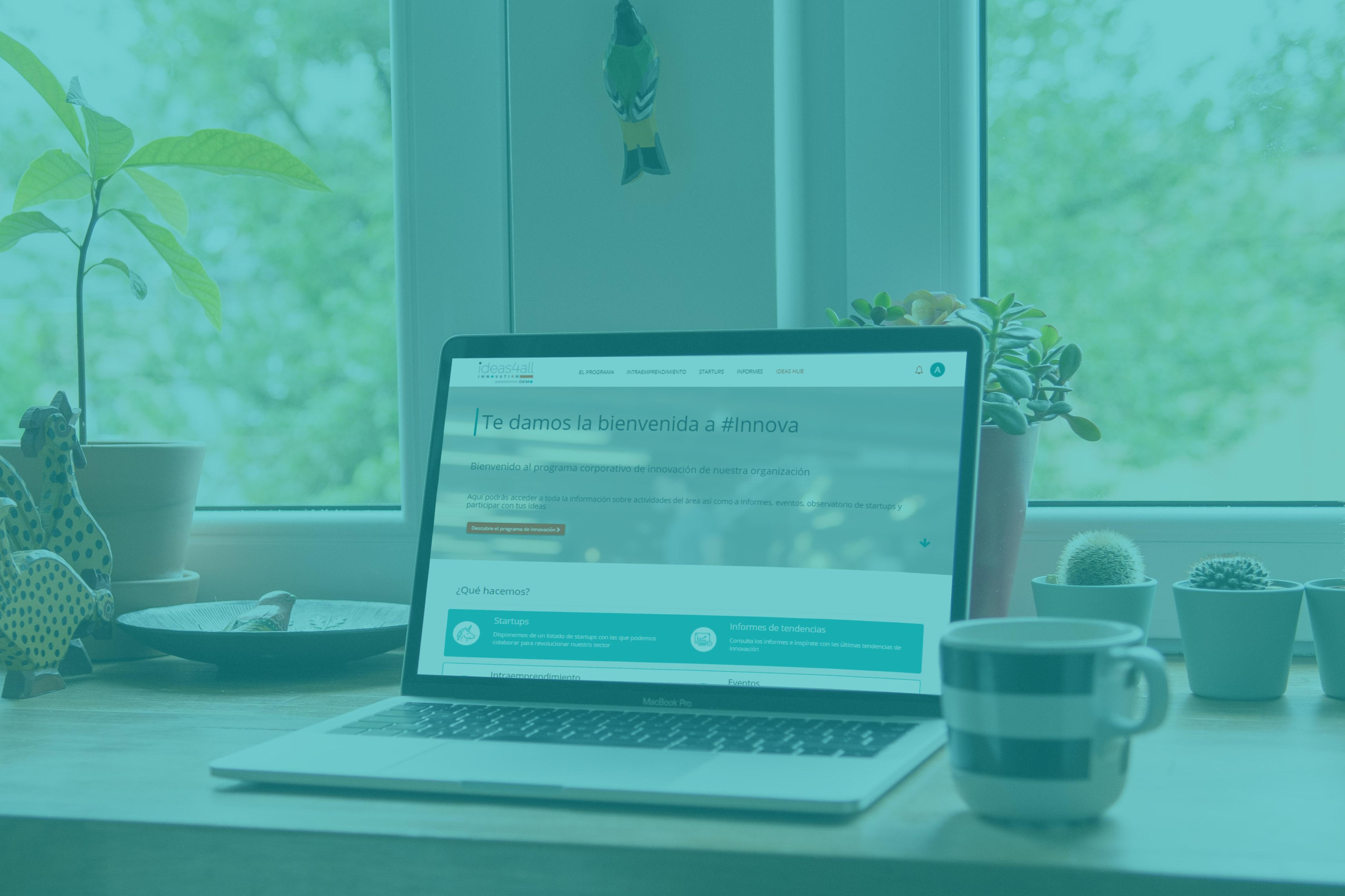 nuestro portal está al servicio de tu programa de innovación