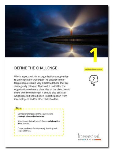 definición de un reto de ideación